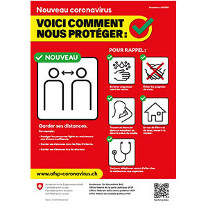 Affiches A3 protection coronavirus