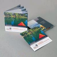 Brochure point metal Sans couverture